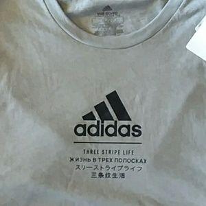 Mens Adidas Go-To Performance T-Shirt Sz 2XL